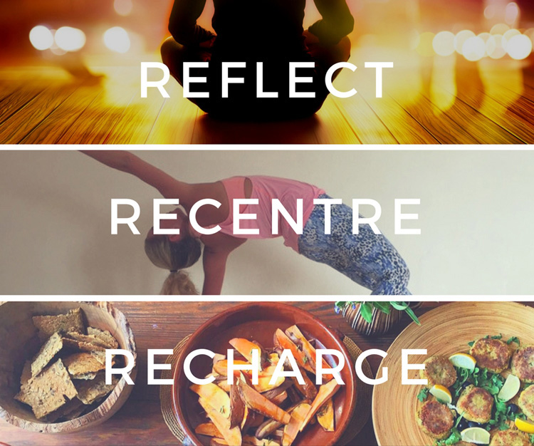 Elevate Events - Reflect, Recentre and Recharge for 2017