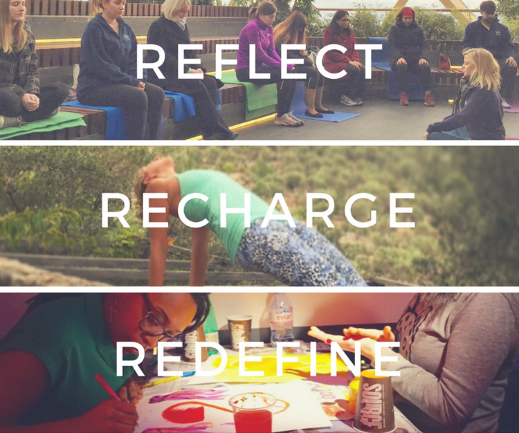 Elevate Events - Reflect, Recharge and Redefine