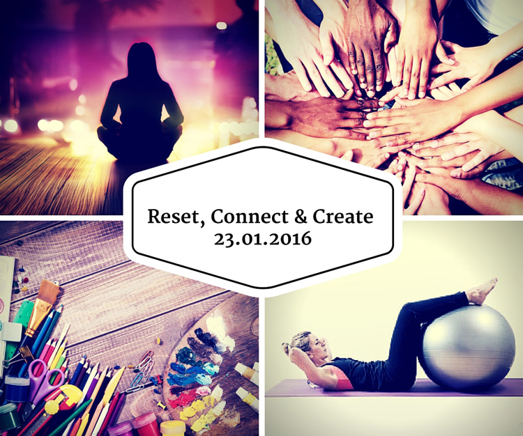 Elevate Events - Reset, Connect & Create